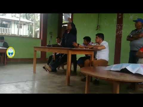 AUTORIDAD DE LA MPAA  SE REUNIÓ CON FEDERACIÓN AGRARIA EN EL CASERÍO SAN JUAN DE ZAPOTE