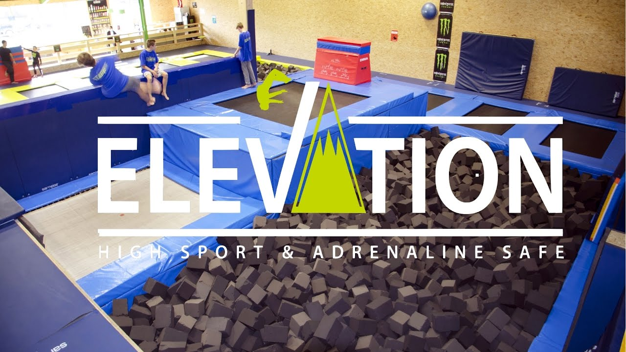 la meilleur salle de trampoline elevation indoor youtube. Black Bedroom Furniture Sets. Home Design Ideas