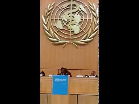 Dato Seri S. Subramaniam Statement at World Health Assembly 2014, Geneva