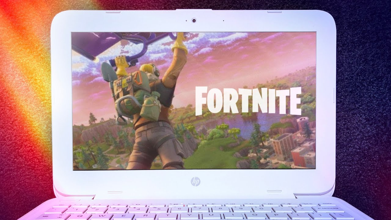 Can You Play Fortnite On A 200 Laptop Youtube
