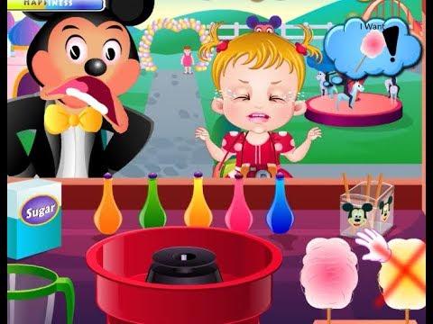 Baby Hazel's Tantrum at Disneyland! - The Bad Game