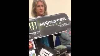 Monster Energy Drink Hidden Message