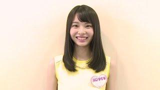 X21のメンバー川口ゆりなが登場 web限定!お見逃しなく! 番組サイト:h...