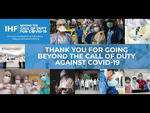 The IHF Beyond the Call of Duty for COVID-19