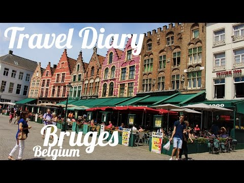 Travel Diary: Bruges, Belgium (+Arrival) // Baltic Cruise 2016