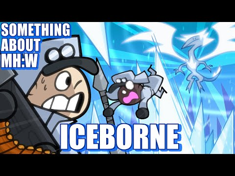 Something About MHW Iceborne ANIMATED (Loud Sound Warning) ❄️🐟