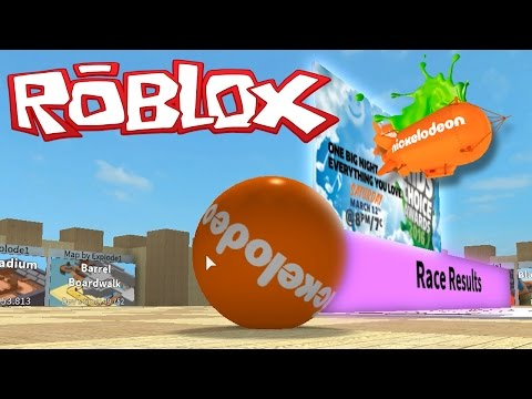 LETS GET THAT NICKELODEON BLIMP! | Roblox Super Blocky Ball