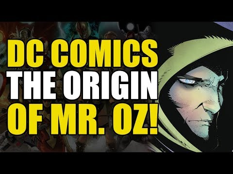 The Identity of Mr. Oz Revealed! (Action Comics Vol 8: The Oz Effect)