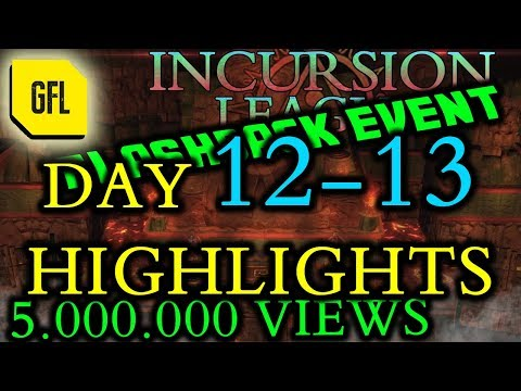Path of Exile 3.3: Incursion Flashback League DAY # 12-13 Highlights 5.000.000 views