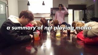 a summary of nct playing mafia