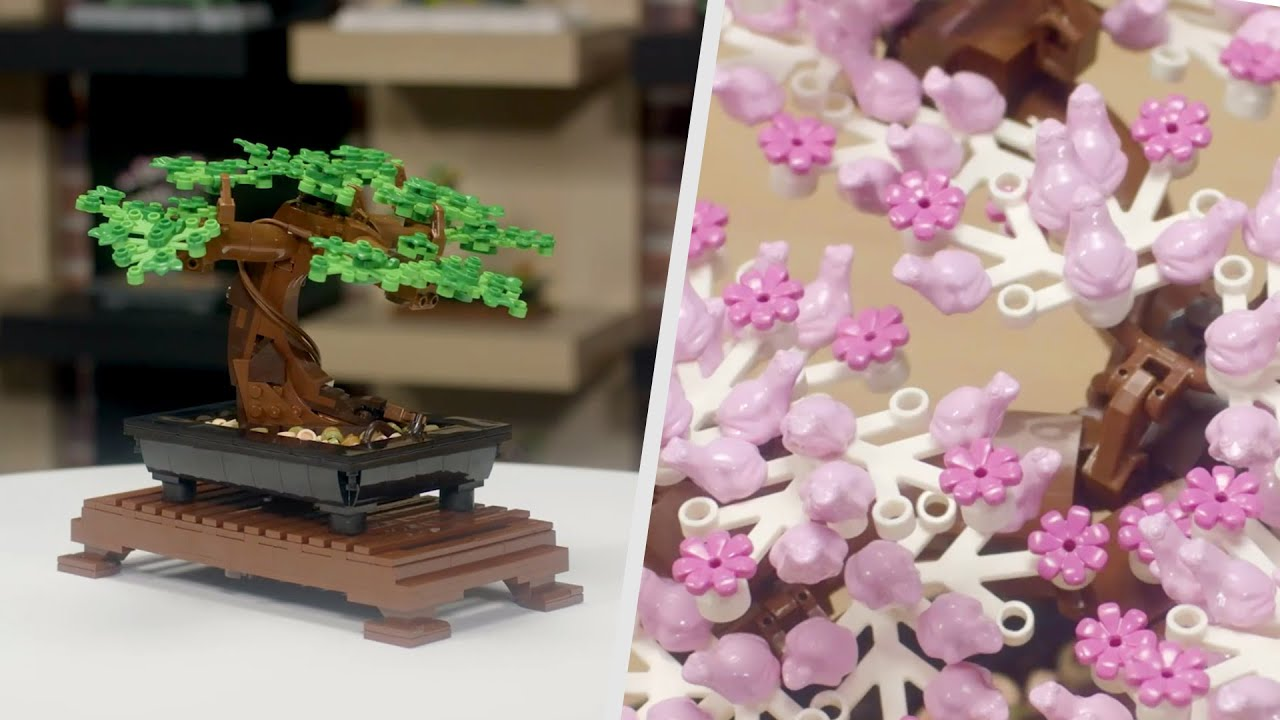 Lego 10281 Bonsai Tree Would Look Perfect On Your Computer Desk Techeblog
