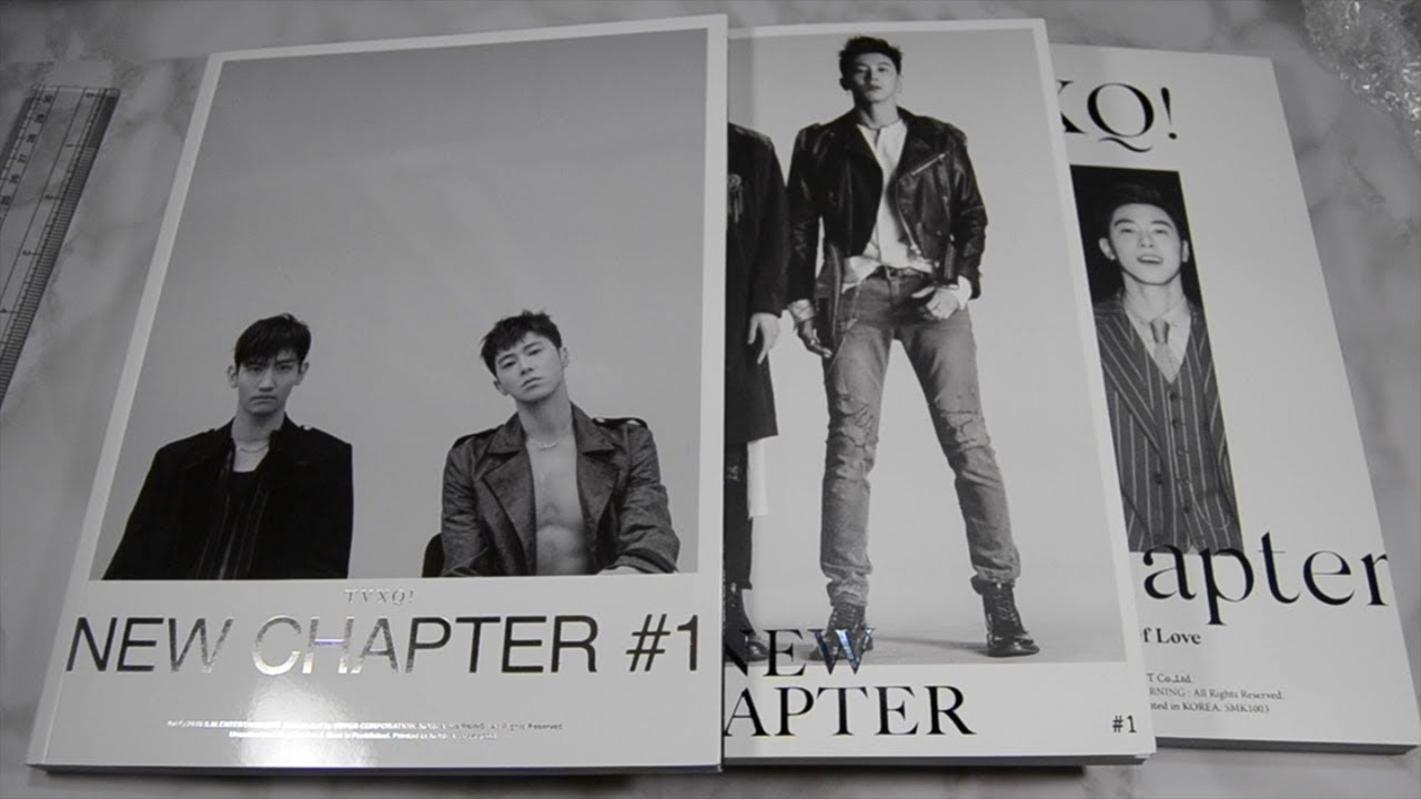TVXQ New Chapter #1: The Chance of Love Unboxing (All Versions)