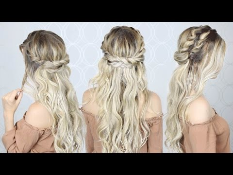 HOW TO: Double twist crown braid | EASY & SIMPLE