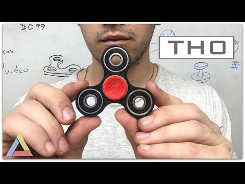TH0 - Twitch Handle Zero - MichaelTaylorDesigns - Hand Spinner