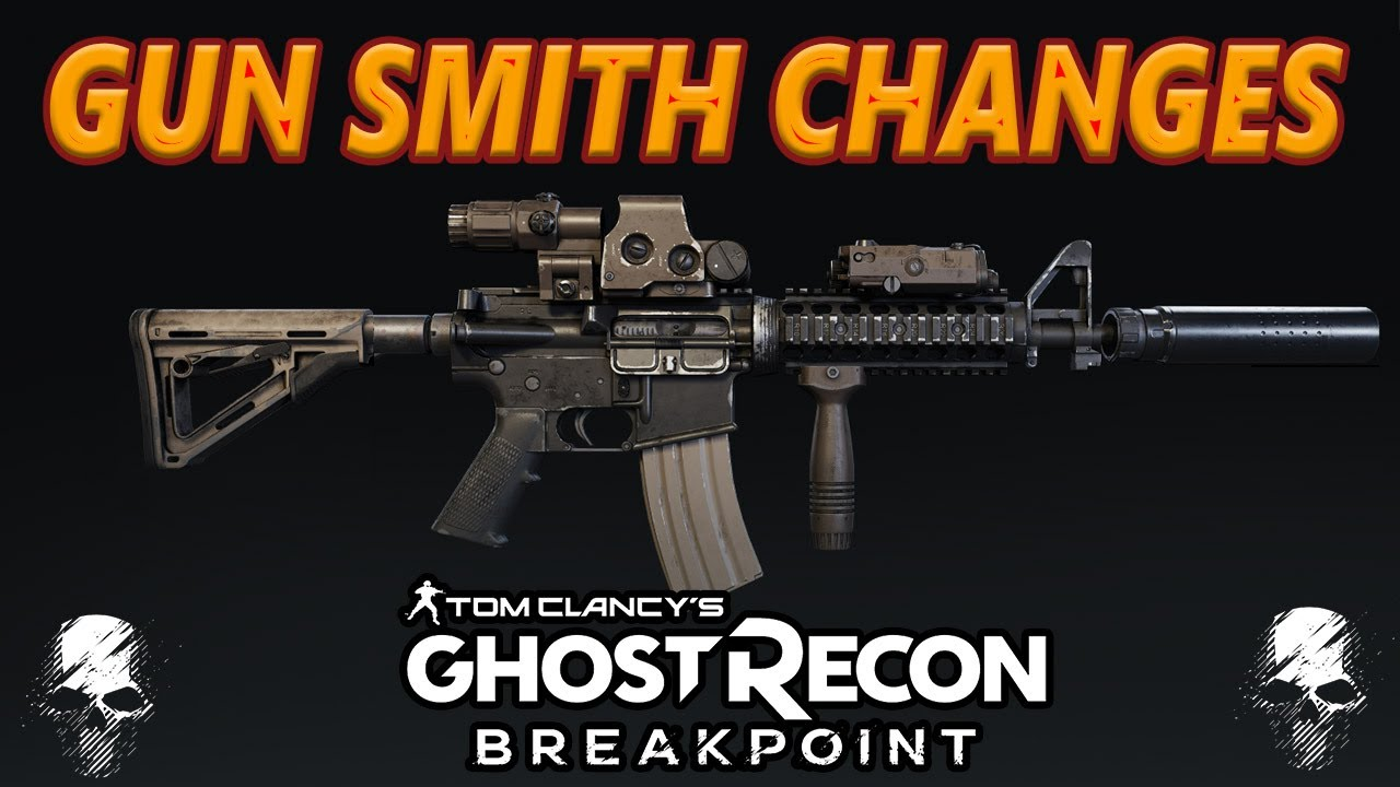 Ghost Recon Breakpoint: New GUN SMITH Changes | TU 2.1