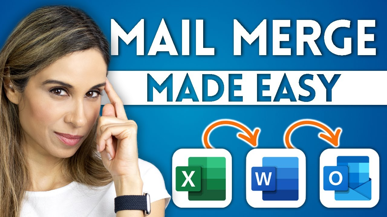 Properly Use Mail Merge from Excel to Word & Outlook | Dynamic Linking between Excel & Word