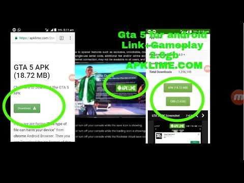 Gta 5 For Android Link+gameplay 2.6gb APKLIME.COM 100000000000% WORKING