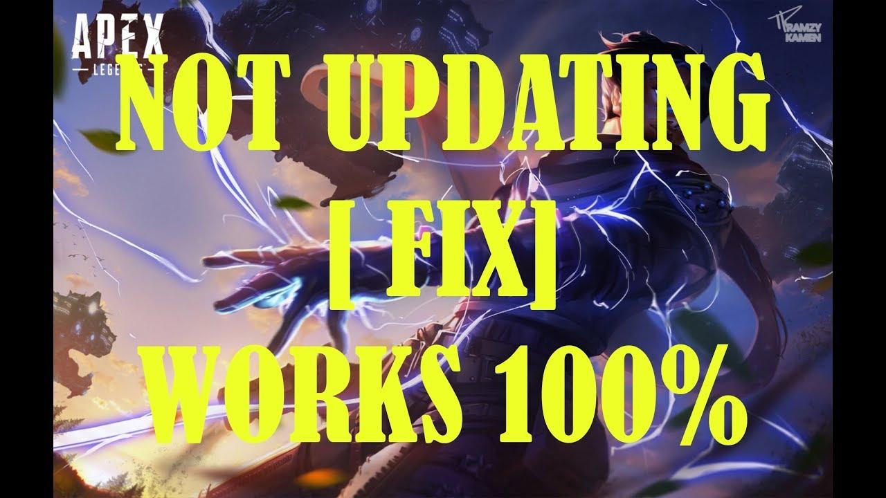 APEX LEGENDS NOT UPDATING [ FIX PC ]   100% WORKING
