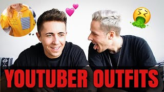 YOUTUBER OUTFITS ERRATEN! 👕🔥