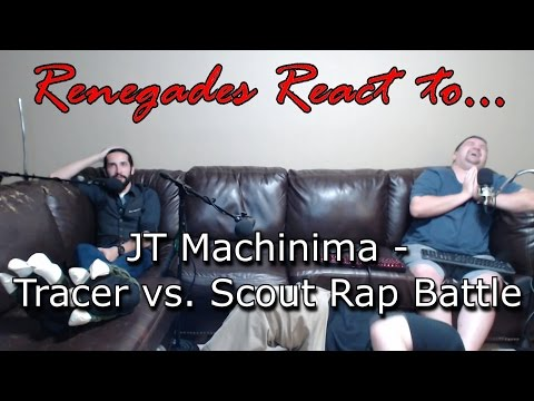 Renegades React to... JT Machinima - Tracer vs. Scout Rap Battle