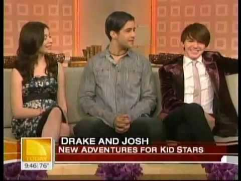 Miranda, Drake, And Josh on Today's Show