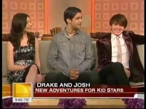 Miranda, Drake, And Josh on Today's Show