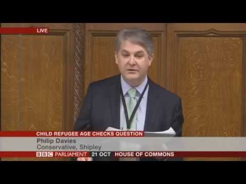 Philip Davis MP questions the