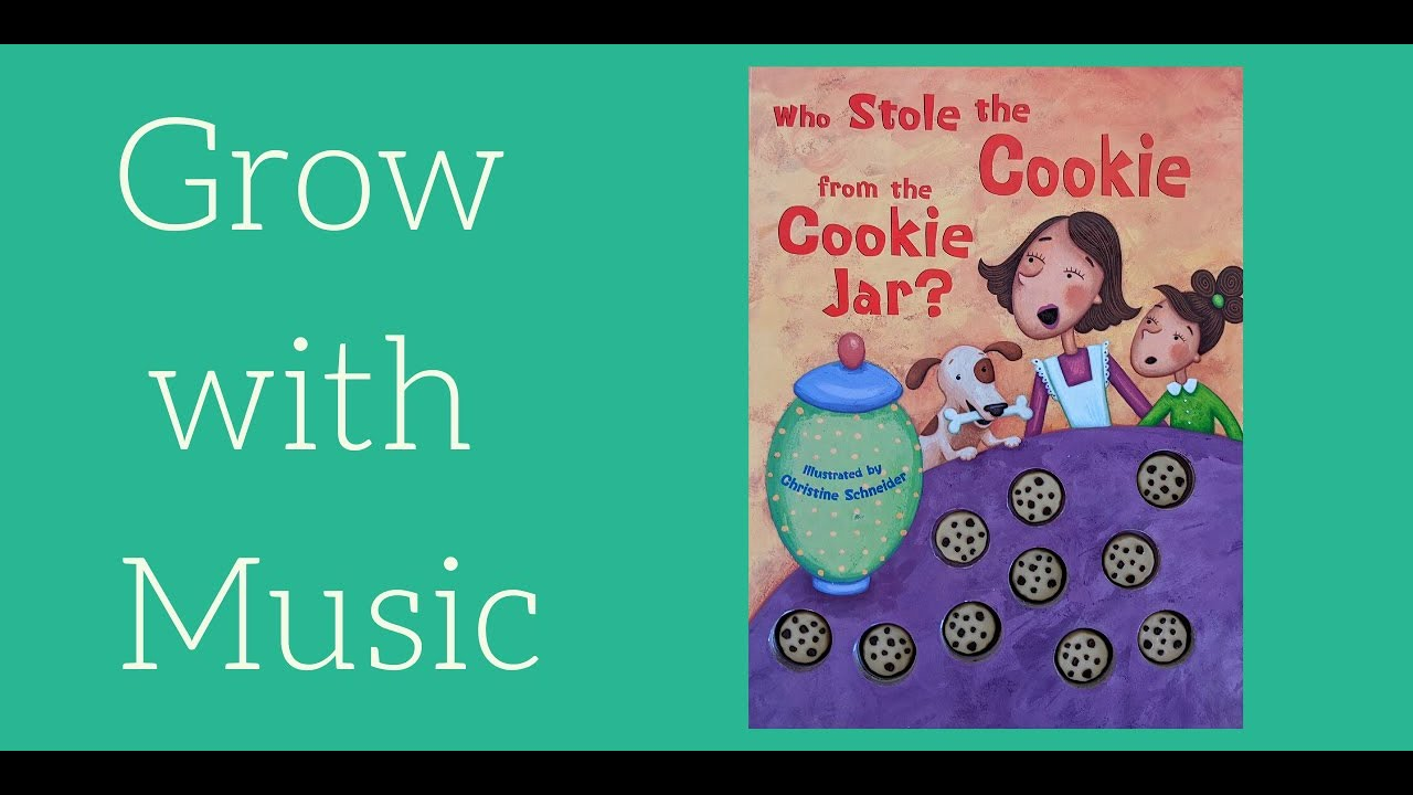 Who Stole the Cookie from the Cookie Jar?  Building skills with song picture books