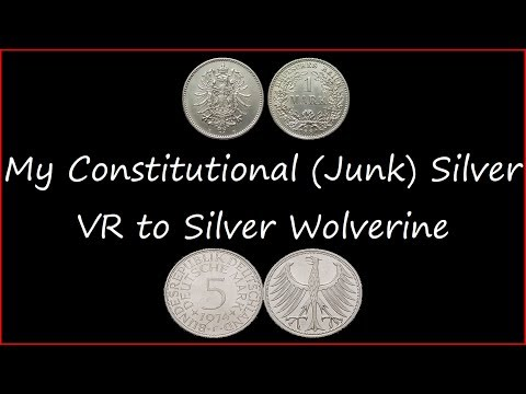 My Junk Silver 100 Oz - VR to Silver Wolverine