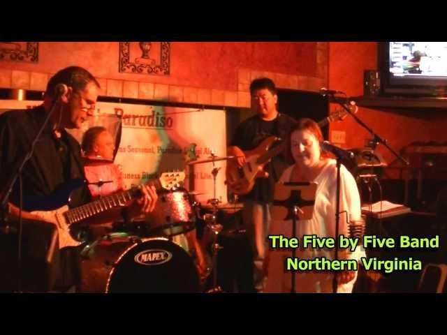 Five by Five Band, N.Virginia June 2013  - Misunderstood