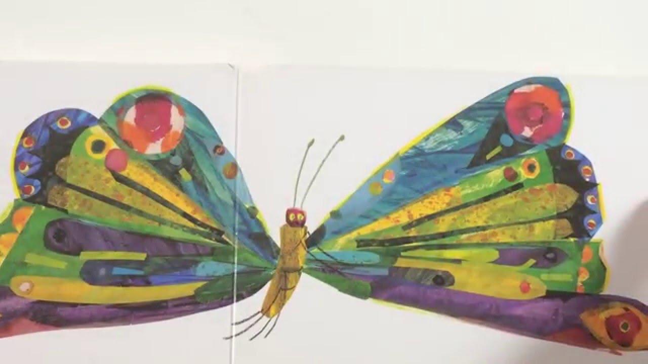 La oruga muy hambrienta - The very hungry caterpillar - YouTube