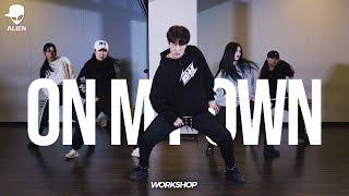 2019 Workshop   On My Own(ft. Nefera) - Troyboi   Vana Kim Choreography