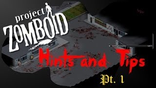 Project Zomboid - How To Build Using Wood [pz Hints And Tips] #1