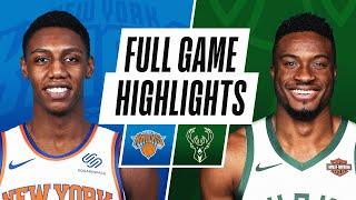 GAME RECAP: Knicks 102, Bucks 96
