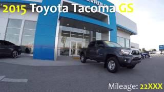 Bill Buck Video Library : 2015 Toyota Tacoma V6 GS : 2852P