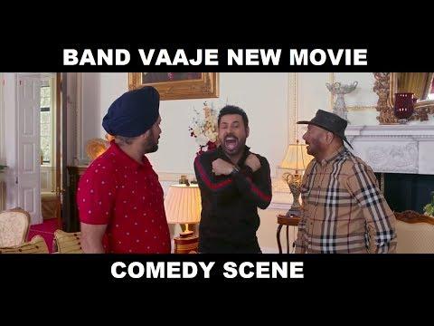 Binu Dhillon, Karmjeet Anmol & BN Sharma (Band Vaaje) New Comedy Scenes 2019  - Filmy Records