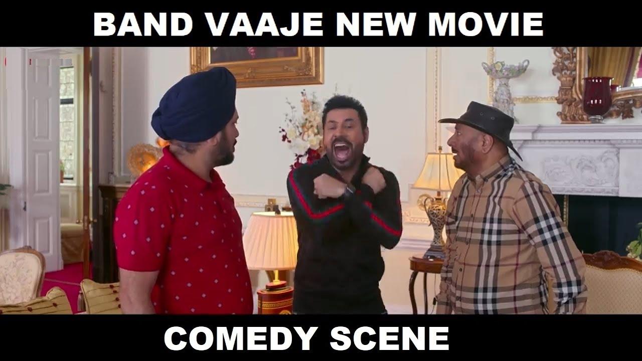 Download Binu Dhillon, Karmjeet Anmol & BN Sharma (Band Vaaje) New Comedy Scenes 2019  - Filmy Records