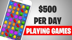 Make $500 TODAY PLAYING GAMES! (Make Money Online For Free)