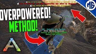 OP ROCK GOLEM TAMING METHOD! 3 Man PvP Servers - Ark: Survival Evolved