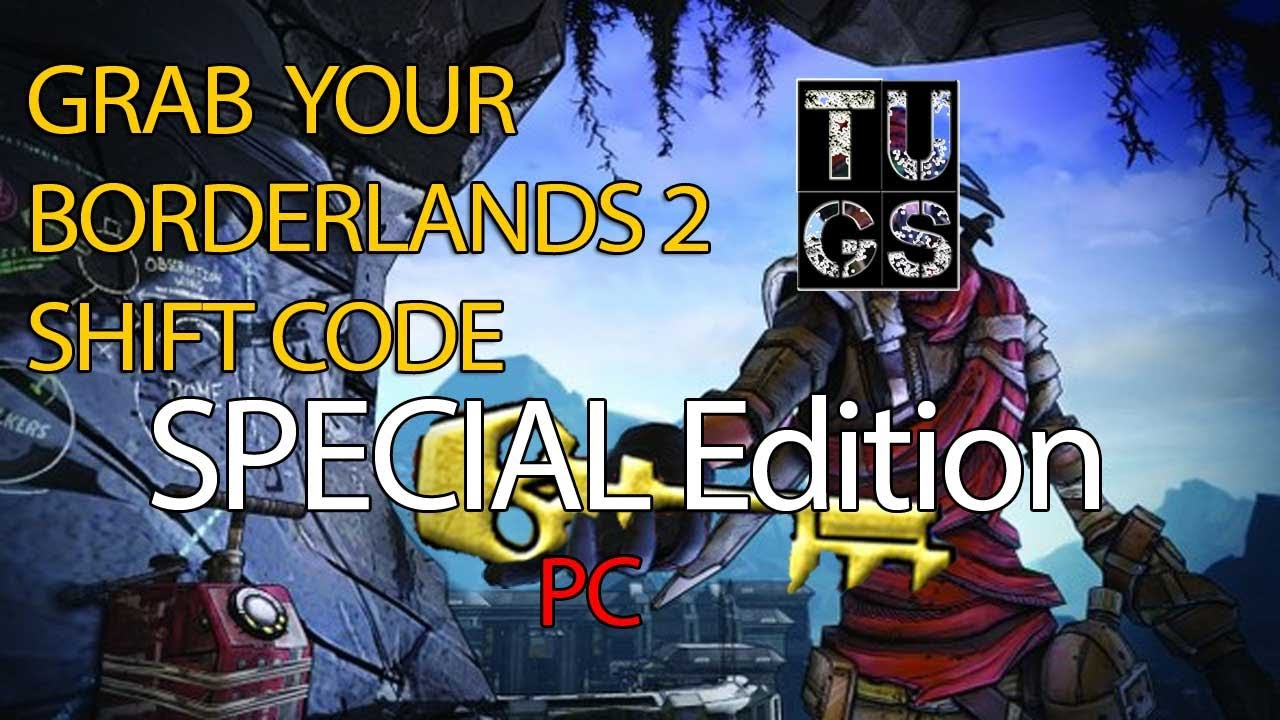Special Edition SHIFT CODE Rare Bandit weapon, Strength Relic Borderlands 2  Mac, PC Free Golden Key