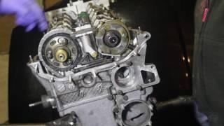 Жинау механизмі ГРМ және выставляем фазаның BMW M54