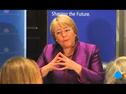 A Conversation With Her Excellency Michelle Bachelet, Presid