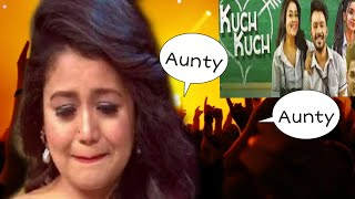 """""""Kuch kuch Hota hai """" Tony Kakkar के गाने में नेहा कक्कर का जमकर उड़ा मजाक।"""