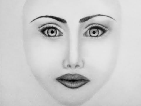 Gallery For gt How To Draw Realistic Faces Step By