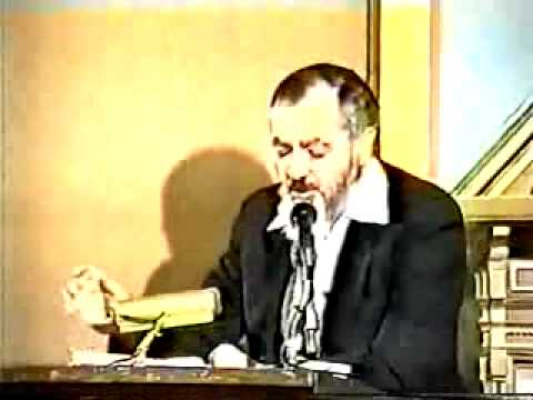 Rabbi Meir Kahane against Michael Lerner (1/9)