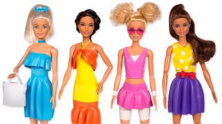 Easy Barbie Makeovers | You Only Need Balloons👗🎈