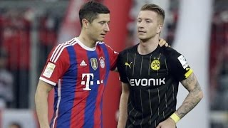 Reus and Lewandowski - best friends forever