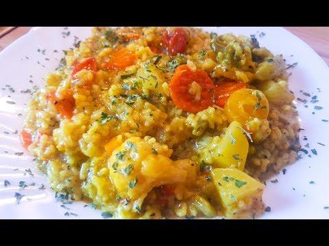 Shola Vegetable Risotto | شلهٔ افغانی