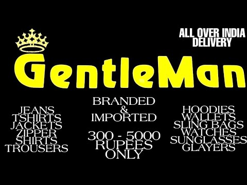 Gentleman Boutique, Mumbai | Branded & Imported Clothing With Accessories | 300 - 5000 Rupees Only