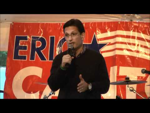 Majority Leader Eric Cantor on the Importance of the 2012 Senate Race